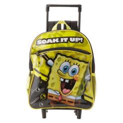 "Boy's Mini 12""  SpongeBob Rolling Backpack"