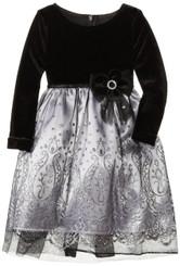 Goodlad Little Girls' Organza Dress - Toddler