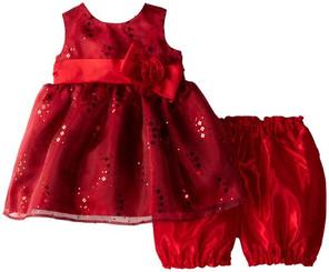 Jayne Copeland Baby Girls' Glitter Organza - ( 9/12Mths )