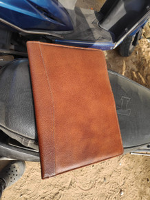 Leather Folder Chicago Tan