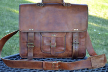 PL 16 inch Classic Briefcase Messenger Bag