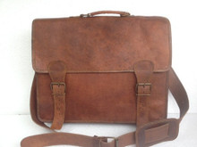 PL Distressed Messenger  Briefcase