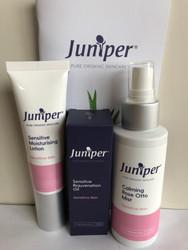 Juniper Organic Skincare Essentials Pack Sensitive