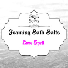 "Love Spell ""Foaming Bath Salt"""