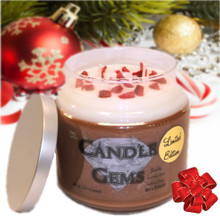 "Limited Edition ""Peppermint Bark"" Candle Gem"