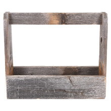 Rustic Reclaimed Wood Tool Caddy/Tote