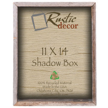 11x14 Barn Wood Collectible Shadow Box