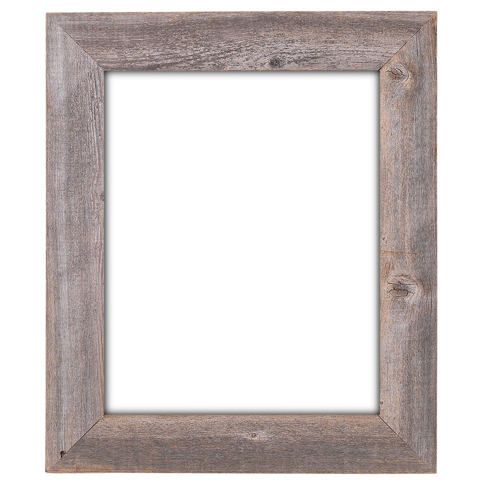 16x20 Picture Frames – Barnwood Reclaimed Wood Extra Wide Wall Frame ...
