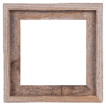 10x10 Picture Frames – Reclaimed Barn Wood Open Frame (No Glass or Back)