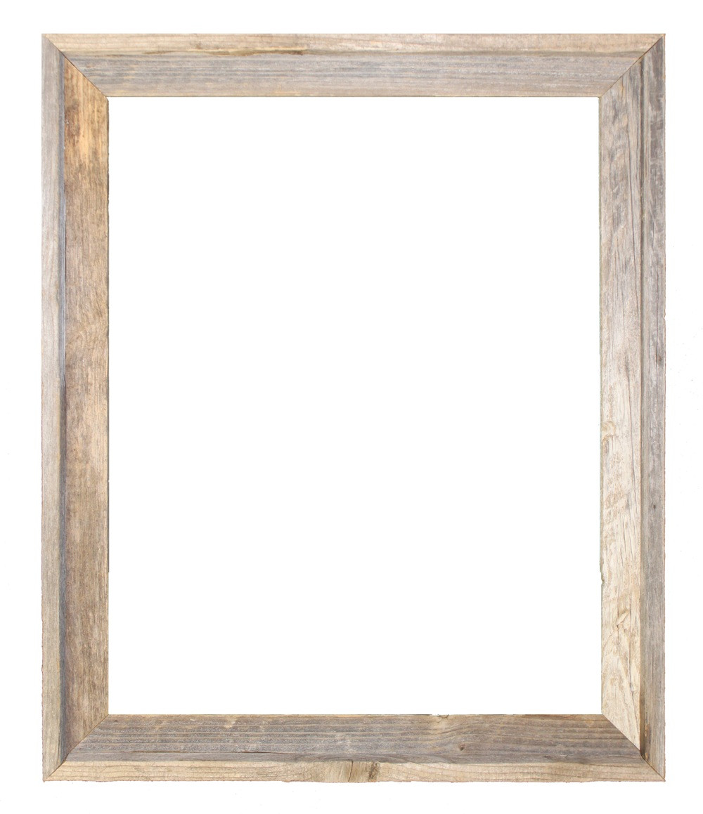 16x24 Picture Frames – Reclaimed Barn Wood Open Frame (No Plexiglass ...