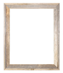 12x18 Picture Frames – Reclaimed Barn Wood Open Frame (No Plexiglass or Back)