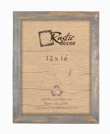 12x16  Rustic Barn Wood Standard Wall Frame