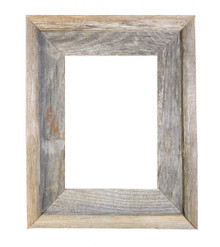 9x12 Picture Frames – Reclaimed Barn Wood Open Frame (No Glass or Back)