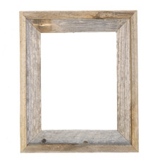 11x14 Picture Frames – Reclaimed Barn Wood Open Frame (No Glass or Back)