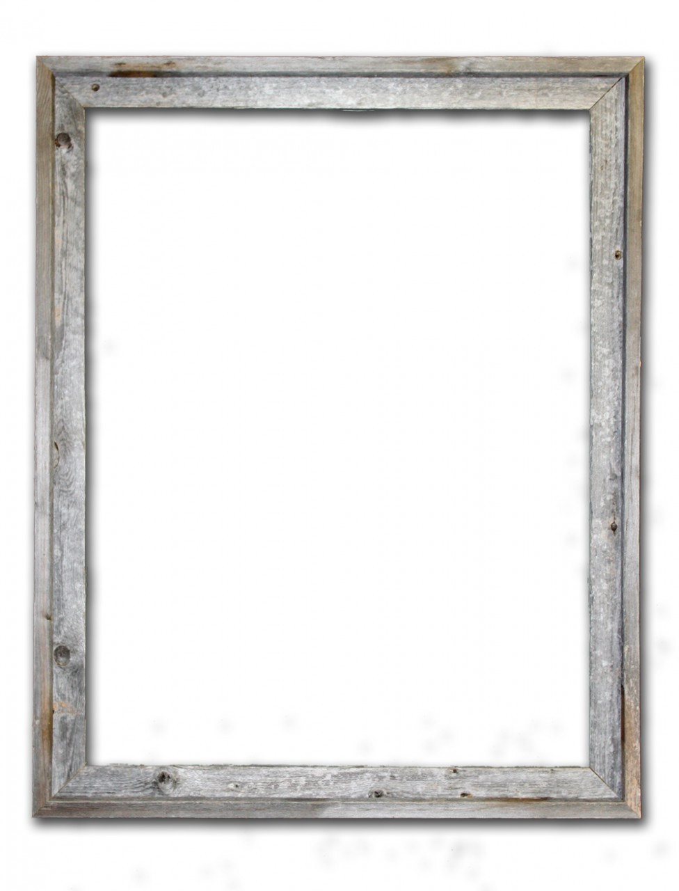 24x30 Picture Frames Reclaimed Barn Wood Signature Open Frame No