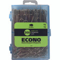 Paper Clips Smooth - 200 Small & 100 Large (300/pk) - Silver