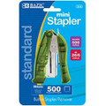 Mini Standup Stapler with 500 Staples