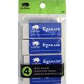 White Erasers 4pk