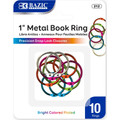"""1"""" Color Rings 10/pk"""