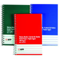 3/pk - Blue, Green & Red Cover