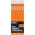 Carpenter Wood Pencils 5/pk BAZIC