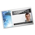 "Self-Laminating Name Cards 10/pk 3.93"" x 2.62"" MERANGUE"