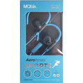 Sport Aerofones Ear Hooks + Mic Blue/Gray