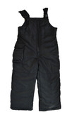 Rothschild 4-7 Boys Black Bib Snowpants