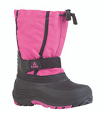 Kamik Girl's Carver Waterproof Snow Boots Magenta