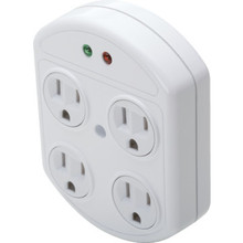360 D 4 Outlet Plug-In Surge Protector