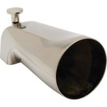 """Brushed Nickel Diverter Tub Spout1/2"""" Fip"""