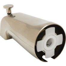 """Brushed Nickel Diverter Tub Spout 5/8"""" Compression Fitting"""