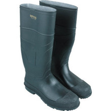 "16"" Pvc Slicker Work Boots ""Size 10"""