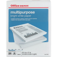 "Multipaper 8-1/2X11"" 500Shts"