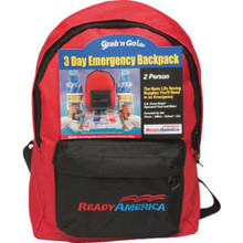 3-Day Emergency Backpack - 2 Person