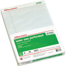 100% Recycled Writing Pads Pkg Of 6