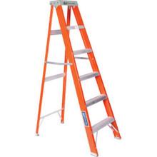 """8 Foot - Fiberglass Step Ladder """"Fob"""""""