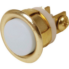 "5/8"" Unlighted Flush Chime Button"