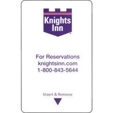 "Knights Inn Select Keycard ""Pkg Of 500"""