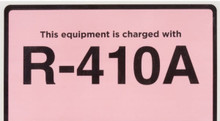 R-410A Adhesive Labels - 10 Pack