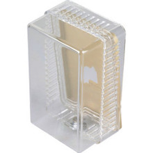 Clear Plastic Thermostat Guard- Verticle