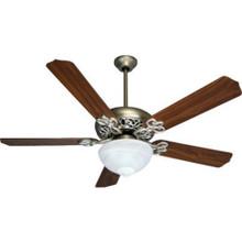 "52"" Ceiling Fan - Brushed Nickel"