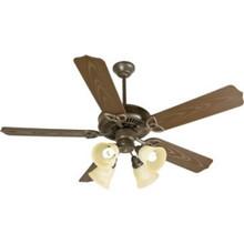 """52"""" Ceiling Fan Brown"""