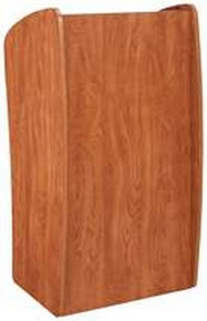 Basic Vision Floor Lectern, Wild Cherry
