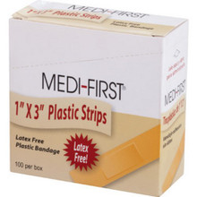 "1 X 3 Plastic Strip ""Pkg Of 100"""