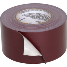 "3"" X 60 Yd Burgundy Duct Tape"