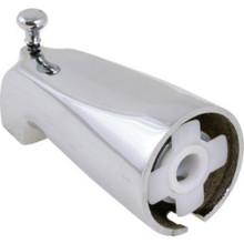 """Chrome Diverter Tub Spout Cast Brass 5/8"""" Compression Fitting"""