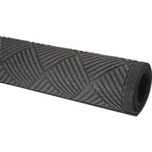 3 X 5' Clean Scrape Outdoor Mat Graphite