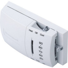 Honeywell 24V Heat/Cool Thermostat-Hor