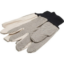 "Large Gripper Dots Gloves ""Pkg Of 3 Pr"""